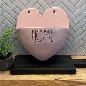 🌿 NEW Rae Dunn HOME Pink Wall Planter Ceramic 🌿